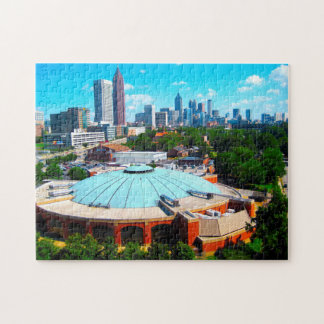 Atlanta Georgia skyline. Jigsaw Puzzle