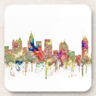 Atlanta Georgia Skyline SG-Faded Glory Coaster