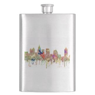 Atlanta Georgia Skyline SG-Faded Glory Hip Flask