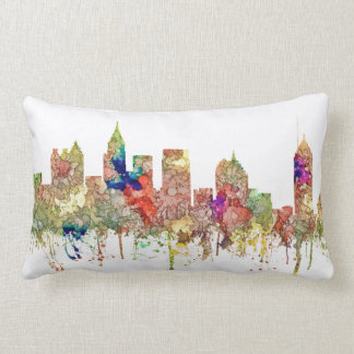 Atlanta Georgia Skyline SG-Faded Glory Lumbar Pillow
