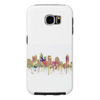 Atlanta Georgia Skyline SG-Faded Glory Samsung Galaxy S6 Cases