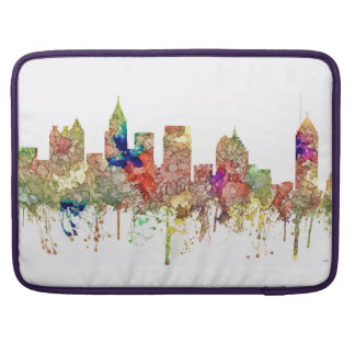 Atlanta Georgia Skyline SG-Faded Glory Sleeve For MacBook Pro