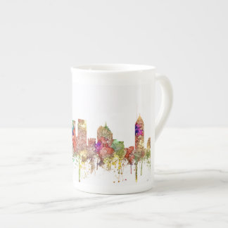 Atlanta Georgia Skyline SG-Faded Glory Tea Cup