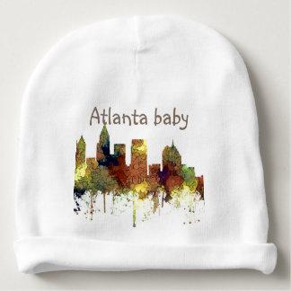 Atlanta Georgia Skyline SG-Safari Buff Baby Beanie