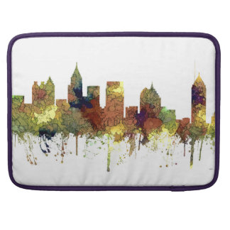 Atlanta Georgia Skyline SG-Safari Buff Sleeve For MacBook Pro