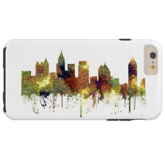 Atlanta Georgia Skyline SG-Safari Buff Tough iPhone 6 Plus Case