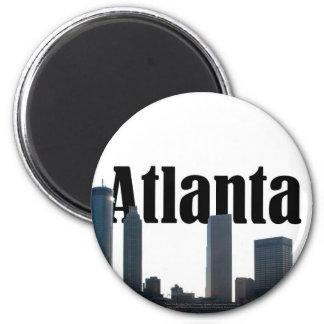 Atlanta Georgia Skyline with Atlanta in the Sky Magnet