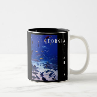 Atlanta Georgia Two-Tone Coffee Mug