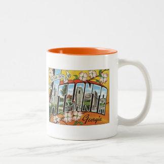 Atlanta Georgia USA Two-Tone Coffee Mug