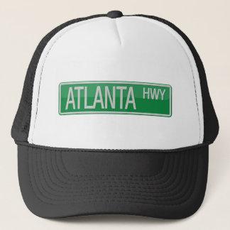 Atlanta Highway road sign Trucker Hat