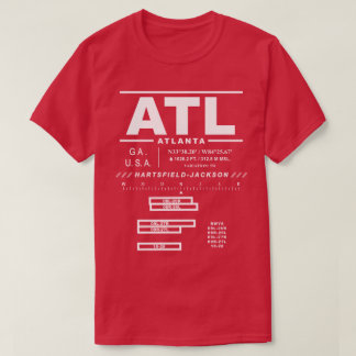 Atlanta International Airport ATL Tee Shirt