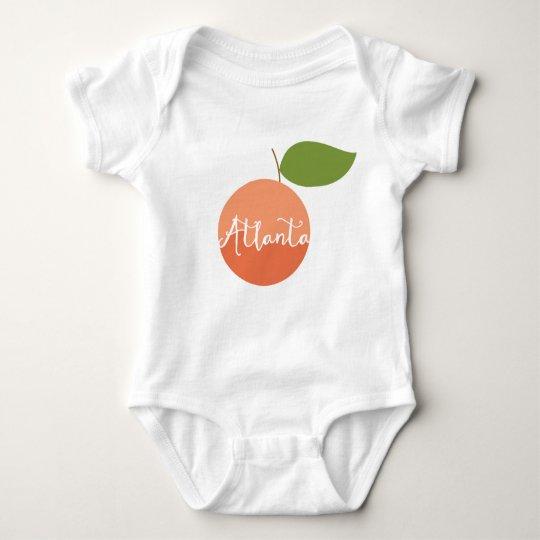 Atlanta Peach baby Baby Bodysuit