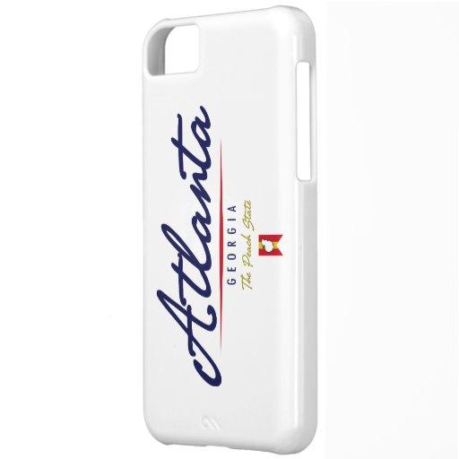 Atlanta Script iPhone 5C Cover