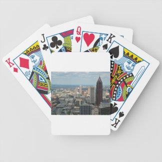 Atlanta Skyline Bicycle Playing Cards
