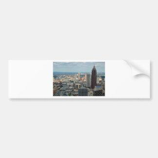 Atlanta Skyline Bumper Sticker