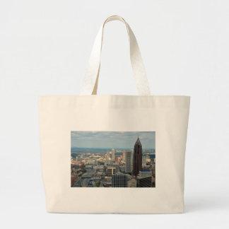 Atlanta Skyline Large Tote Bag