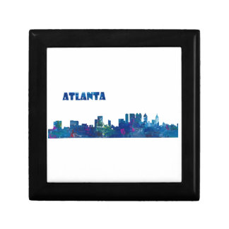 Atlanta Skyline Silhouette Gift Box