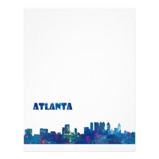 Atlanta Skyline Silhouette Letterhead