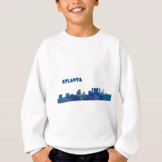 Atlanta Skyline Silhouette Sweatshirt