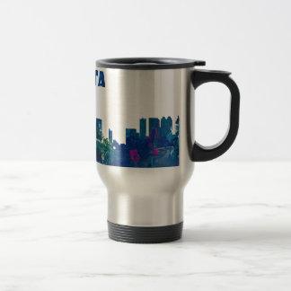 Atlanta Skyline Silhouette Travel Mug