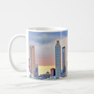 Atlanta Skyline, Sunset, Georgia, Coffee Mug