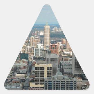 Atlanta Skyline Triangle Sticker