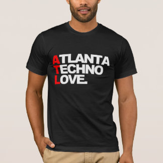 Atlanta Techno Love (black) T-Shirt