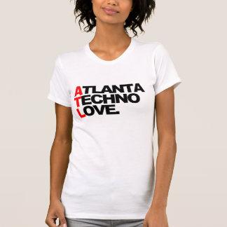 Atlanta Techno Love Ladies (white) T-Shirt