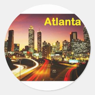 Atlanta (USA) (St.K) Round Sticker