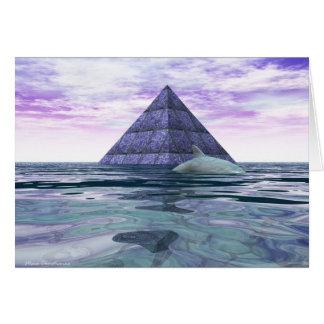 Atlantean Dolphin Temple Card