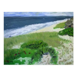 Atlantic Beach, Amagansett LI Postcard