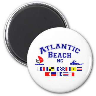 Atlantic Beach NC Signal Flag Magnet