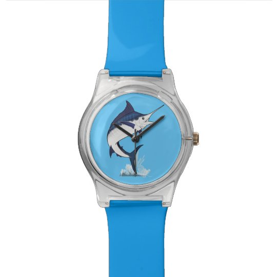 Atlantic Blue Marlin Wrist Watch