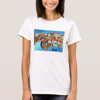 Atlantic City 1 New Jersey NJ Vintage Travel - T-Shirt