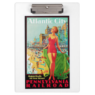 Atlantic City ~ America's All Year Playground Clipboards