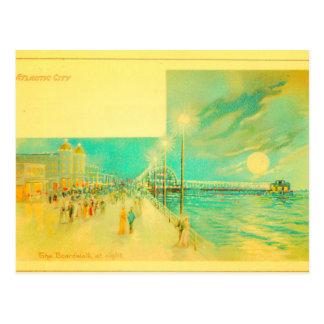 Atlantic City Boardwalk Postcard