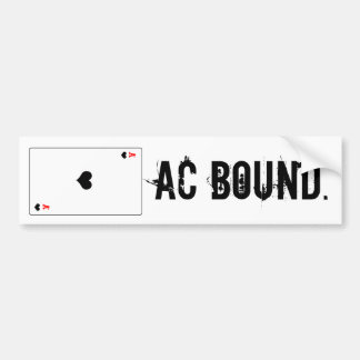 Atlantic city Bound Bumper Sticker