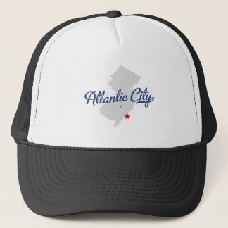 Atlantic City New Jersey NJ Shirt Trucker Hat