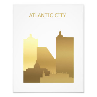 Atlantic City Photo Print