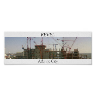 Atlantic City Revel Casino Poster