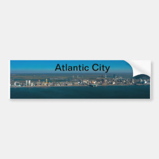 Atlantic City Skyline Bumper Sticker