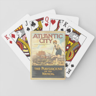 """""""Atlantic City-The Playground of the Nation"""" Playing Cards"""