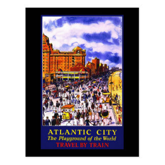 Atlantic City The Playground Of The World Postcard
