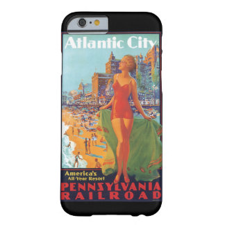 Atlantic City Vintage Travel Poster Barely There iPhone 6 Case