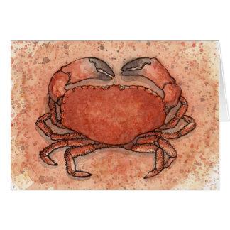 Atlantic Crab Card