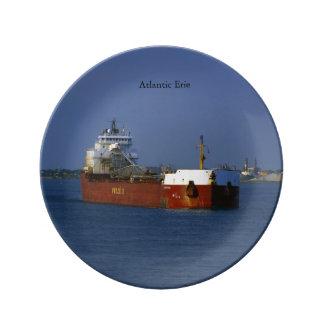 Atlantic Erie decorative plate