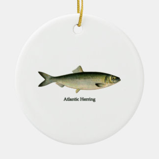 Atlantic Herring Ceramic Ornament