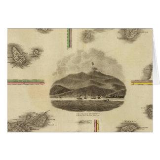 Atlantic islands greeting card