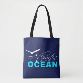 Atlantic Ocean Customizable Tote Bag