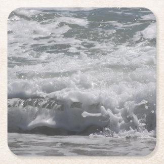 Atlantic Ocean Drink Coastertic Square Paper Coaster
